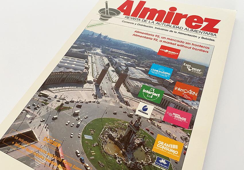 Exemplar de la revista Almirez